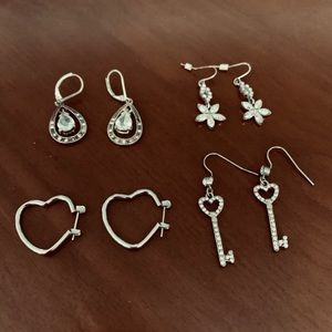 Lot if Fashion earrings